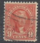 United States Scott # 641 Used