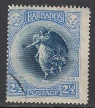 Barbados - 1920 2 1/2p Victory Issue  (9439)