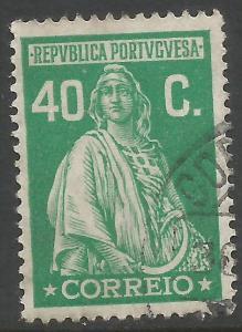 PORTUGAL 408 VFU CERES Z4682-5