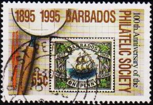 Barbados. 1996 55c S.G.1067 Fine Used