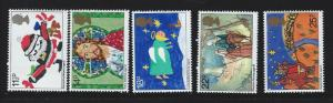 Great Britain  MNH sc 960 - 964