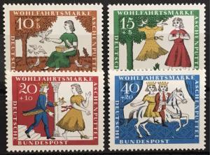 Germany B408-411 MNH set