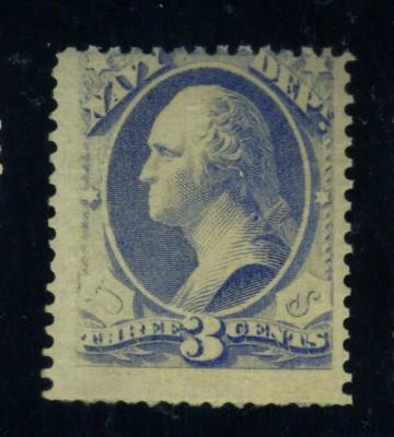 O37 MINT AVe-Fine OG NH Cat$375