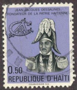HAITI - SC #657 - USED - 1972 - Item HAITI027