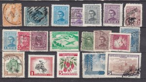 URUGUAY ^^^^   older  hinged & used   collection    $$@ cam3871uru