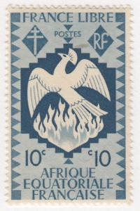 French Equatorial Africa, Scott #143 (2), MH
