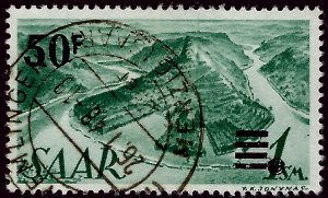 French SAAR Attractive SC#187 Used F=VF....Grab a Bargain!