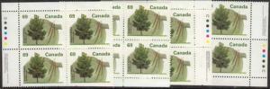 Canada #1369i Mint 1995 69c Shagbark Hickory MS Ashton Potter C
