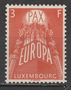 LUXEMBOURG 1957 EUROPA 3FR MNH **
