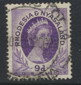 Rhodesia & Nyasaland  SG 8 Used