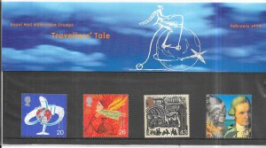 Great Britain  #1843-1846  Travellers' Tale (MNH) Royal Mail set Feb. 1999
