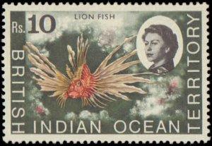 1968-1973 British Indian Ocean Territory #16-20, 22-24, 26, 28-33, Incomplete...