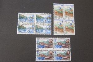 Dahomey 1967 Sc 1241-3 CTO Olympic BLK(4) set FU