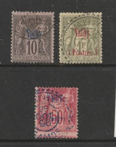 Vathy (French PO) x 3 used
