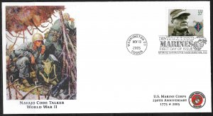2005 Sc3962 Great Moments in USMC History: Navajo Code Talkers FDC