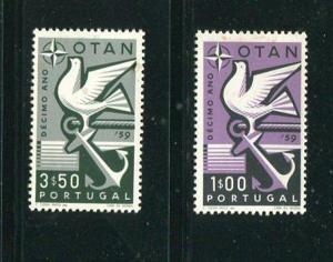 Portugal #844-5 Mint