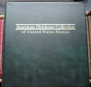 American Heirloom Album 2010 to 2012 Comm. Stamps All MNH