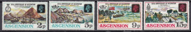 Ascension - 1975 Anniversaryof British occupation Sc# 192/195 - MNH (531)