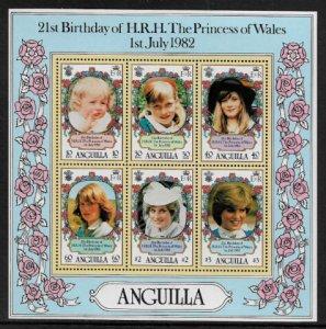 Anguilla #490a MNH S/Sheet - Princess Diana