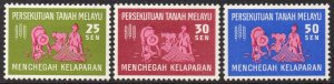 Federation of Malaya 1963 Freedom from Hunger MH
