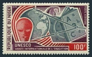 Niger C120,MNH.Michel 241. Educational Year IEY-1970.Globe.