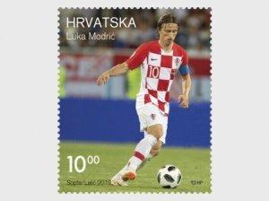 2019   CROATIA  -  SG: N/A - FOOTBALL , LUKA MODRIC -  FIRST DAY COVER