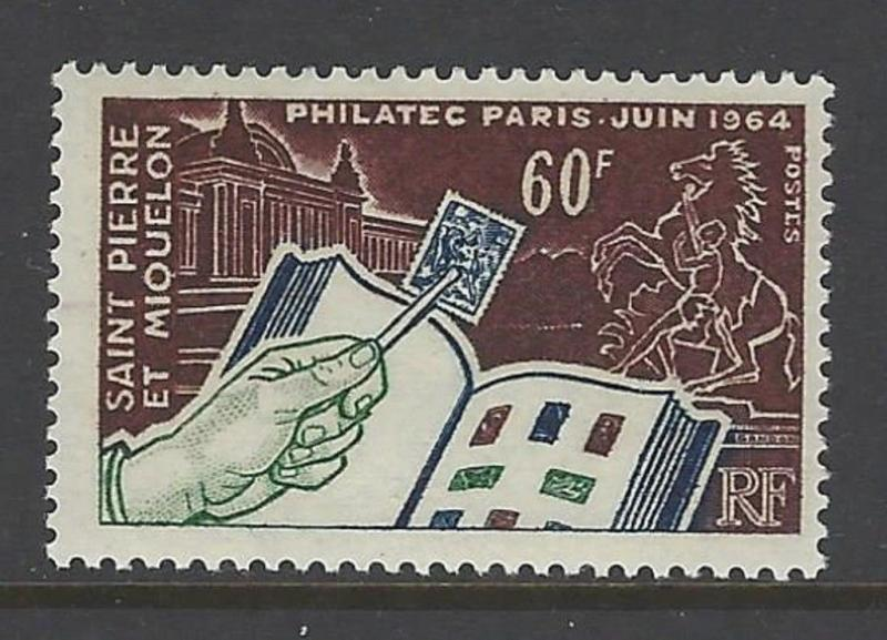 St. Pierre & Miquelon 1964 PHILATEC VF MNH (369)