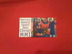Vatican Christmas unused  Cancelled Stamp Booklet R36695