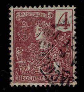Indo-China Scott 26  Used France stamp