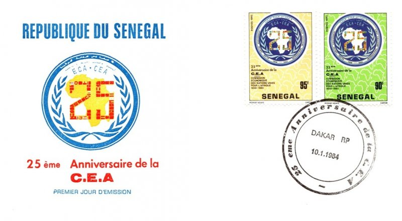 Senegal, Worldwide First Day Cover