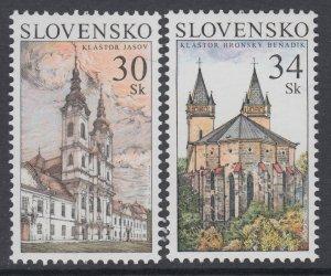 Slovakia 521-522 MNH VF