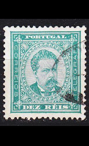 PORTUGAL [1882] MiNr 0055 xB ( O/used )