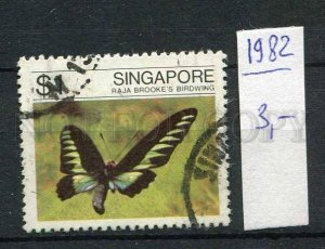 266263 SINGAPORE 1982 year used stamp butterfly
