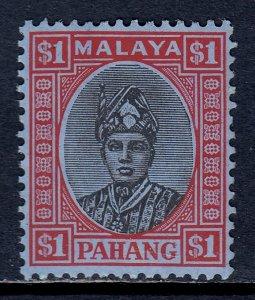 Malaya (Pahang) - Scott #41 - MLH - Typical porous surfacing - SCV $2.50