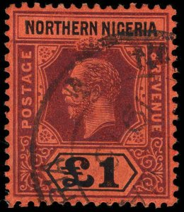 Northern Nigeria Scott 40-52 Gibbons 40-52 Used Set of Stamps
