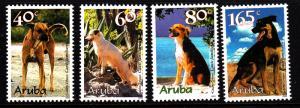 Aruba MNH Scott #174-#177 Set of 4 Dogs