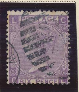 Great Britain Stamp Scott #51, Used - Free U.S. Shipping, Free Worldwide Ship...