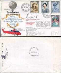 RFDC86 Queen Mothers 90th Birthday 2 August 1990 Signed by Sir Archibald Winskil