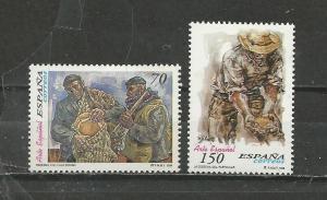 Spain Scott catalogue #3007-3008 Unused HHR