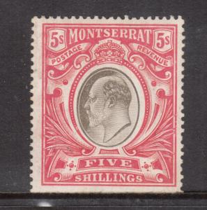 Montserrat #21 Mint Fine - Very Fine Original Gum Hinged