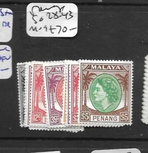 MALAYA PENANG  (PP0109B) QEII SG 28-43  MOG