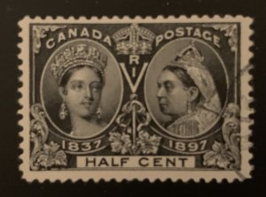 Canada #50 XF USED Jubilee -- Perfect Centering
