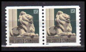 3769 10c Lion Fine MNH Pair