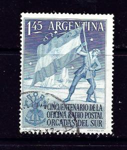 Argentina 621 Used 1954 issue