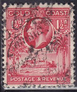 Gold Coast 100 USED 1928 Christiansborg Castle