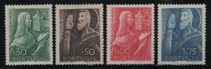 Portugal 1948 St John de Britto set Sc# 689-92 mint