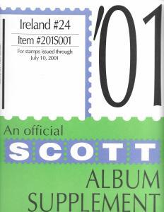 Scott Ireland #24 Supplement 2001