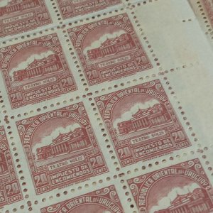 1000 stamps MNH Solis theatre masonic architecture URUGUAY Sc #Q86 MNH wholesale