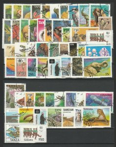 Tanzania Topical Very Fine MNH** & Used Stamps Lot Collection 15409