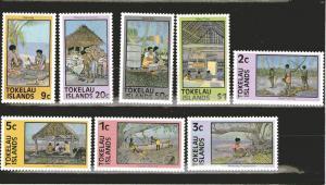Tokelau 49-56 MNH